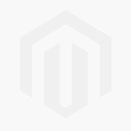 Brown Faux Leather Round Bin